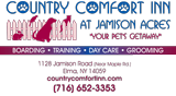 Johnston Country Comfort