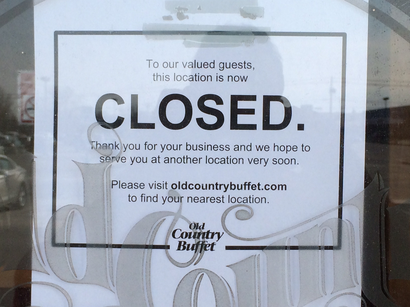 old country buffet closed assets auctioned