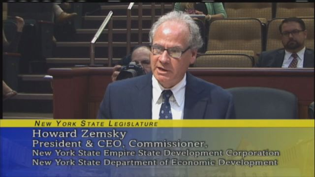 Lawmakers grill official over Start-Up NY   WGRZ.com