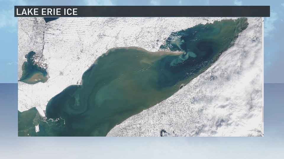 Lake erie lacking ice in 2017 for Lake erie ice fishing